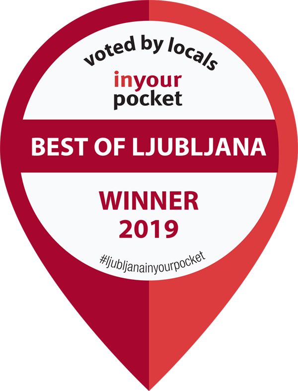 Ljubljananjam -In your pocket- award for the year of 2019.